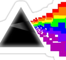 8-bit Dark Side of the Moon Sticker