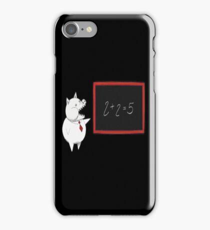 2 + 2 = 5 iPhone Case/Skin