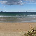 Towradgi Beach (pan) by rom01