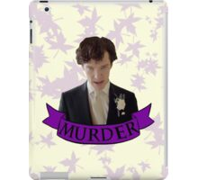"""Let's play murder"" iPad Case/Skin"