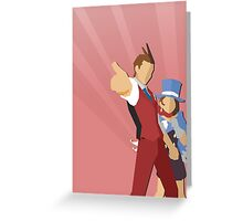 The Wright Anything Agency! Greeting Card