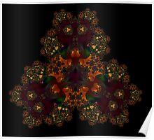 All Fractal Like - Gold One Poster