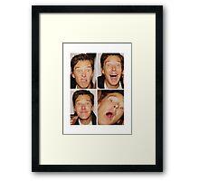 ben c Framed Print