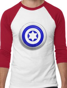 Captain Israel Men's Baseball ¾ T-Shirt