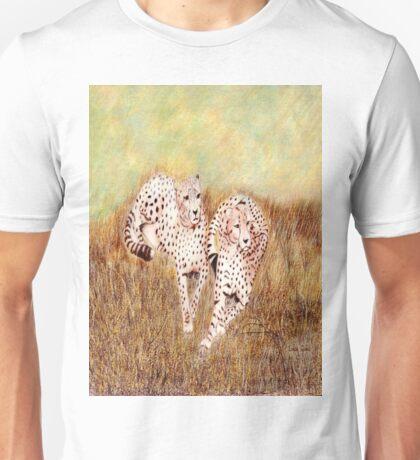 Resting Cheetahs Unisex T-Shirt