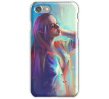 Quiet mornings iPhone Case/Skin