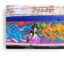 Graffiti As Art - Canvas Print