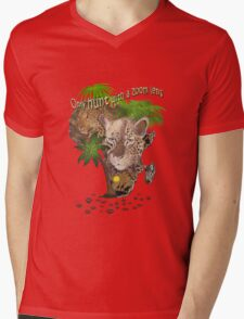 Only Hunt with a Zoom lens Mens V-Neck T-Shirt