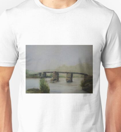 Misty Postbridge - Oil Painting Unisex T-Shirt
