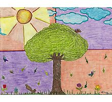 Tree and Friends Photographic Print