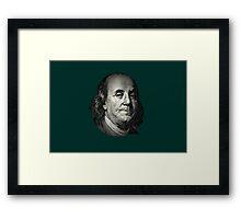 Franky Goes Bank Framed Print