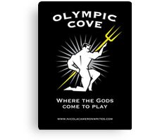Olympic Cove - Where the Gods Come to Play (Dark) Canvas Print