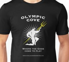 Olympic Cove - Where the Gods Come to Play (Dark) Unisex T-Shirt