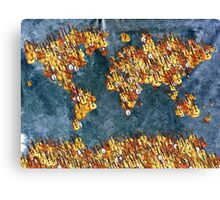 World Music Canvas Print
