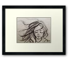 Be Free with Music  Framed Print
