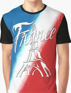 France Tour Eiffel Graphic T-Shirt