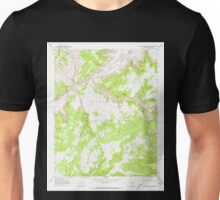 USGS TOPO Map Arizona AZ Red Willow Spring 313076 1970 24000 Unisex T-Shirt