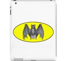 Vintage Bat Signal iPad Case/Skin