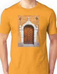 Vintage wooden door Unisex T-Shirt