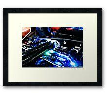Car Guts Framed Print
