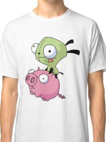 Gir Riding Pig  Classic T-Shirt