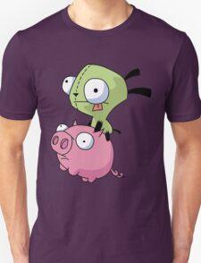 Gir Riding Pig  T-Shirt