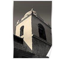 Carmel Mission I Toned Poster