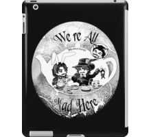Musketeers Mad Tea Party Ink Effect iPad Case/Skin