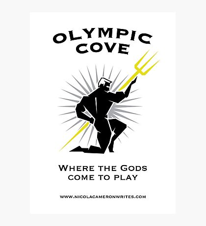 Olympic Cove - Where the Gods Come to Play (Light) Photographic Print