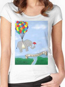 OH TO EXPLORE! Women's Fitted Scoop T-Shirt