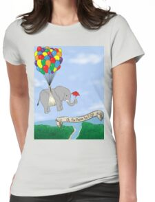 OH TO EXPLORE! Womens Fitted T-Shirt