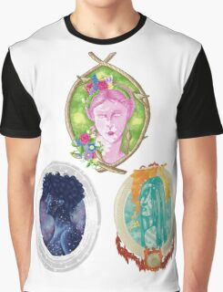 Women as Nature Collection Graphic T-Shirt