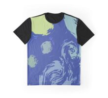 The Starry Night inspired design Graphic T-Shirt