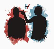 Guns for Hands Splatter by amdesigns