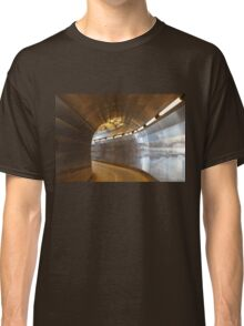 Brunkeberger yellow tunnel in Stockholm, Sweden Classic T-Shirt