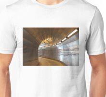 Brunkeberger yellow tunnel in Stockholm, Sweden Unisex T-Shirt