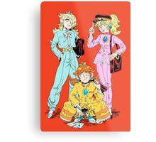 Gakuran Princesses Metal Print