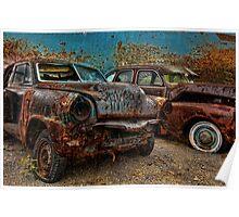 Crusty & Rusty Poster