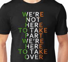 Conor Mcgregor Taking Over Unisex T-Shirt