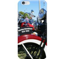 Vintage Motorcycles At Rest iPhone Case/Skin