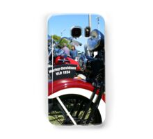 Vintage Motorcycles At Rest Samsung Galaxy Case/Skin