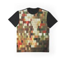 Abstraction #047 Multicolored Cubes I Graphic T-Shirt