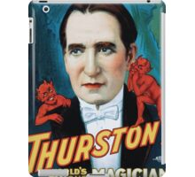 Performing Arts Posters Thurston worlds famous magician the wonder show of the earth 1633 iPad Case/Skin