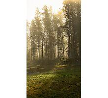 Relax, Take a Deep Breath Photographic Print