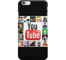 Youtuber Collage iPhone Case/Skin