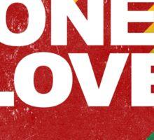 One Love. Sticker