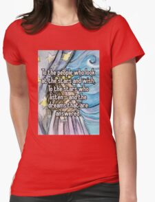 a court of mist and fury  Womens Fitted T-Shirt
