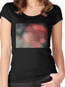 Soft Bokeh Women's Fitted Scoop T-Shirt