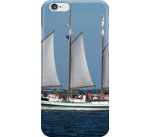 Sail Boat in Charleston Harbour iPhone Case/Skin