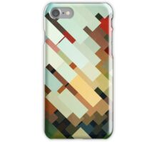 Abstraction #048 Multicolored Blocks II iPhone Case/Skin